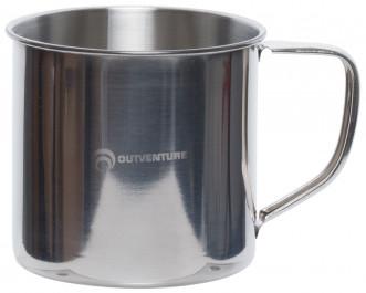 Кружка Outventure серебряный цвет — купить за 229 руб в интернет-магазине Спортмастер - Товары для туризма и активного отдыха