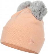 Шапка женская New Era Double Pom Cuff Knit
